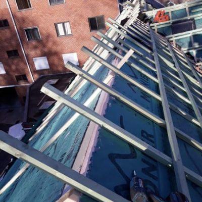 Panneaux isolant (sous toiture) et pare-vapeur